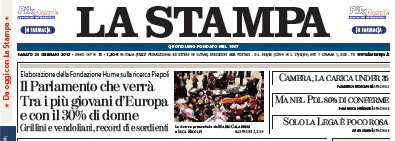 La Stampa - 26-01-2013